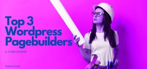 top 3 page builders for wordpress